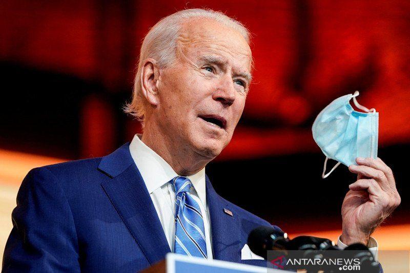 Presiden AS Joe Biden sebut siswa yang sudah divaksin tak perlu bermasker