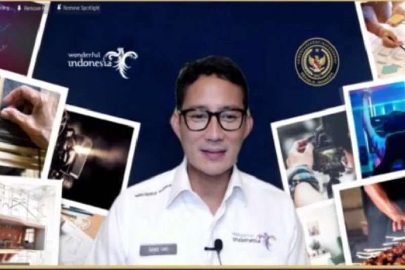 Menparekraf Sandiaga Uno ajak pengusaha lirik sektor digital, game & konten kreatif