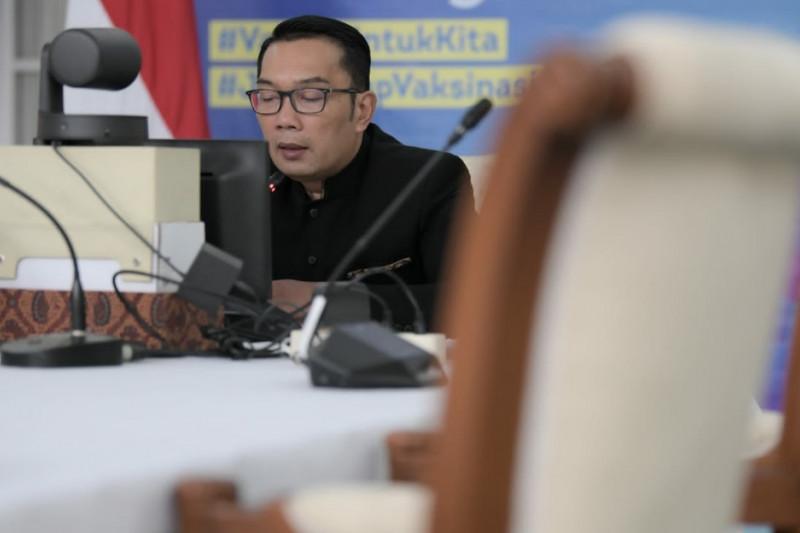 BOR Jabar turun ke angka 75 persen, kata Gubernur Ridwan Kamil