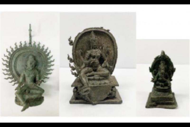 Kantor Jaksa Manhattan AS kembalikan tiga barang antik ke Indonesia