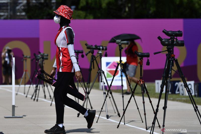 Tim panahan Indonesia gagal ke semifinal beregu campuran olimpiade