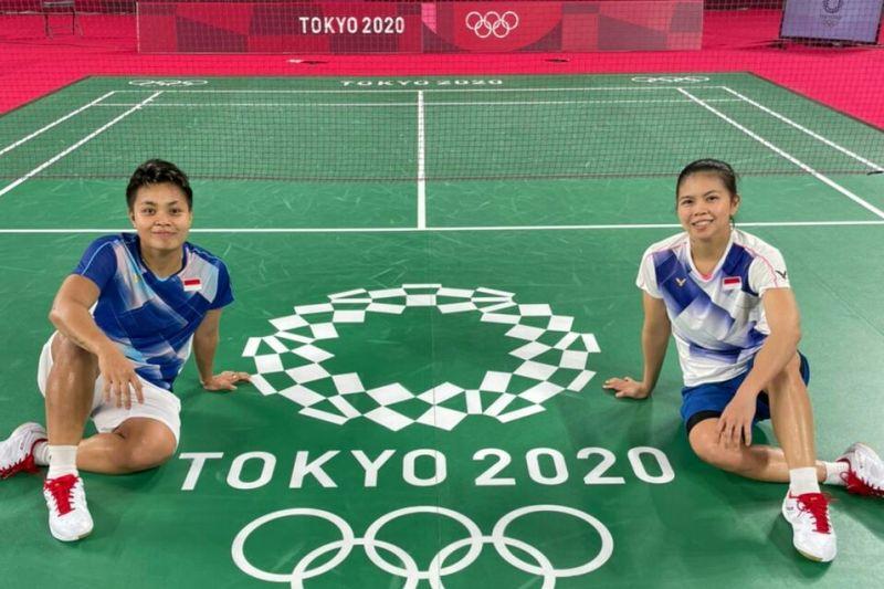 Greysia/Apriyani petik kemenangan pada laga pembuka bulutangkis Olimpiade