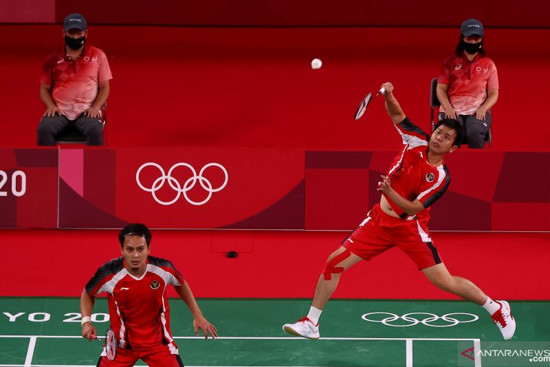 Hendra/Ahsan waspadai ganda putra Korea di laga terakhir penyisihan Grup D