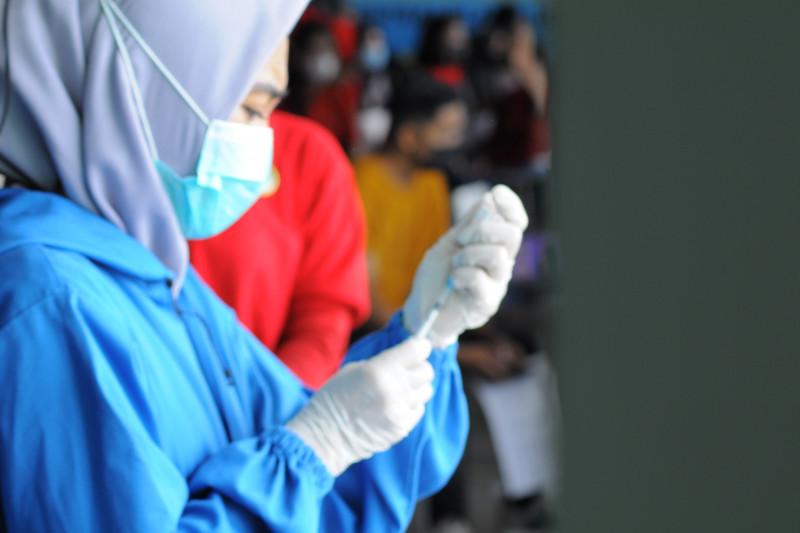 Penerima vaksin COVID-19 dosis pertama capai 44,47 juta orang