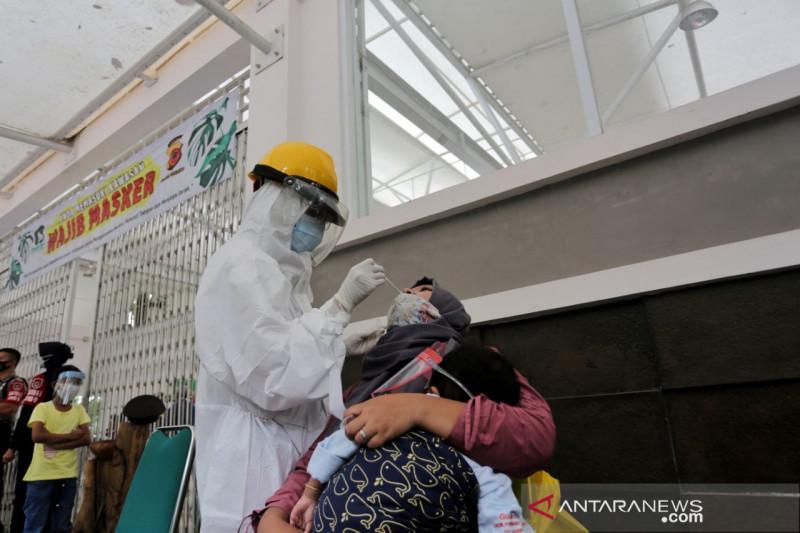 Kasus aktif COVID-19 Kota Bandung meningkat dua hari terakhir
