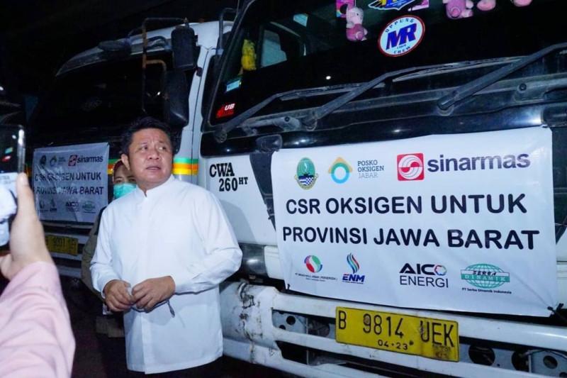 Sinar Mas Sumsel distribusikan 85,8 ton oksigen ke Jawa Barat