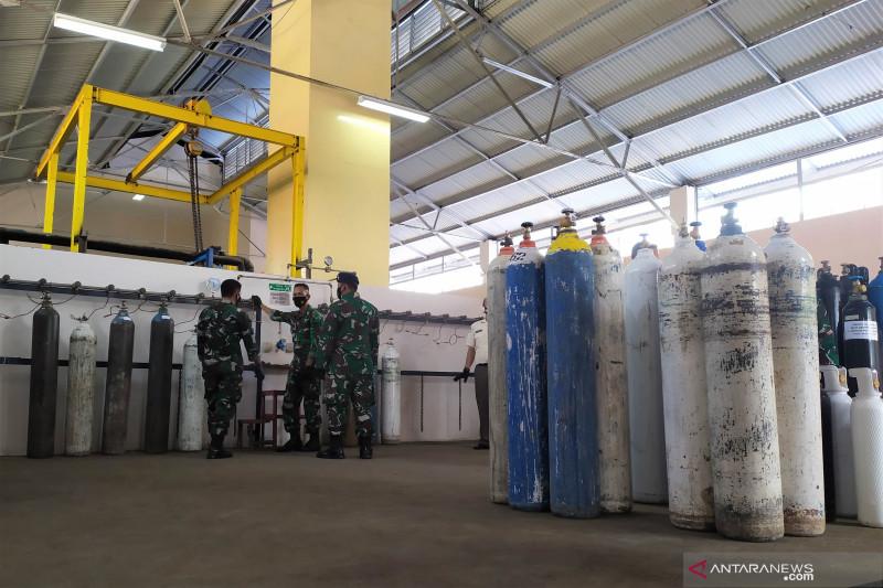 TNI AU operasikan Pazam untuk penuhi kebutuhan oksigen di Kota Bandung