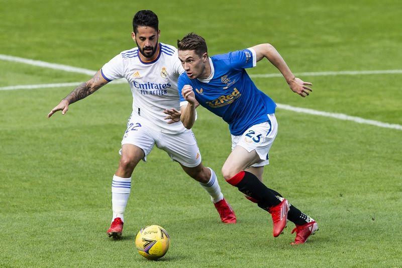 Real Madrid dipecundangi Rangers Skotlandia dalam laga persahabatan