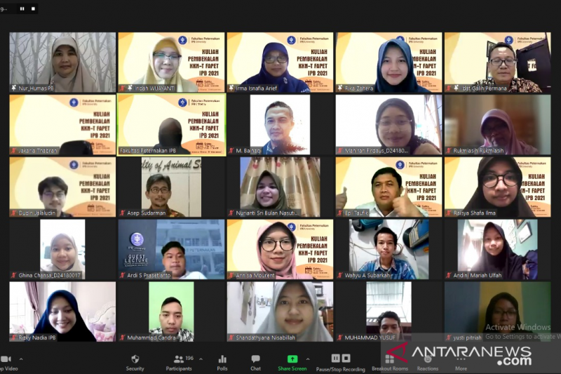 Fakultas Peternakan IPB beri pembekalan KKNT bagi mahasiswa