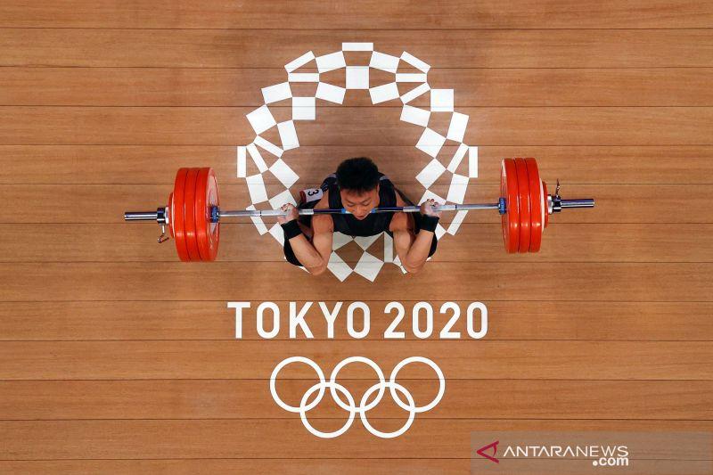 Rahmat Erwin Abdullah raih perunggu untuk Indonesia dari angkat besi Olimpiade