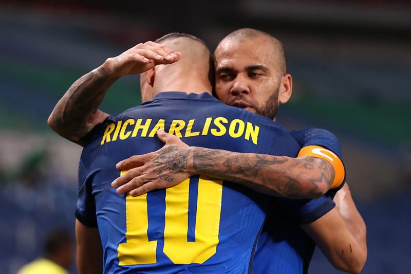 Sepak bola Olimpiade  - Brazil ke perempatfinal usai menang 3-1 atas Arab Saudi