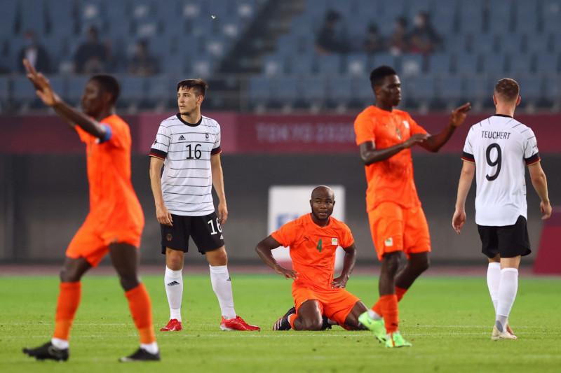 Sepak bola Olimpiade - Diimbangi Pantai Gading, Jerman gagal ke perempatfinal