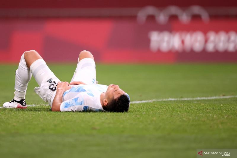 Argentina gagal ke perempat final seusai main imbang dengan Spanyol