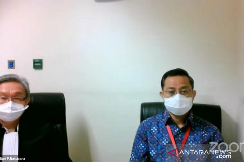 Mantan Mensos Juliari Batubara dituntut 11 tahun penjara