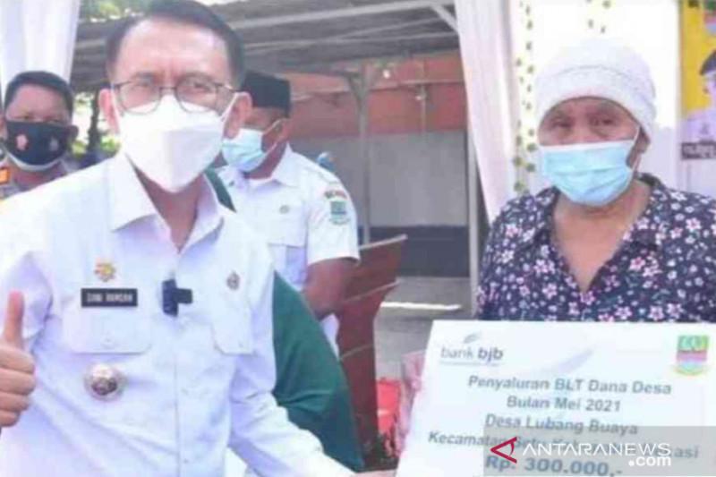 Pemkab Bekasi percepat penyaluran BLT dana desa