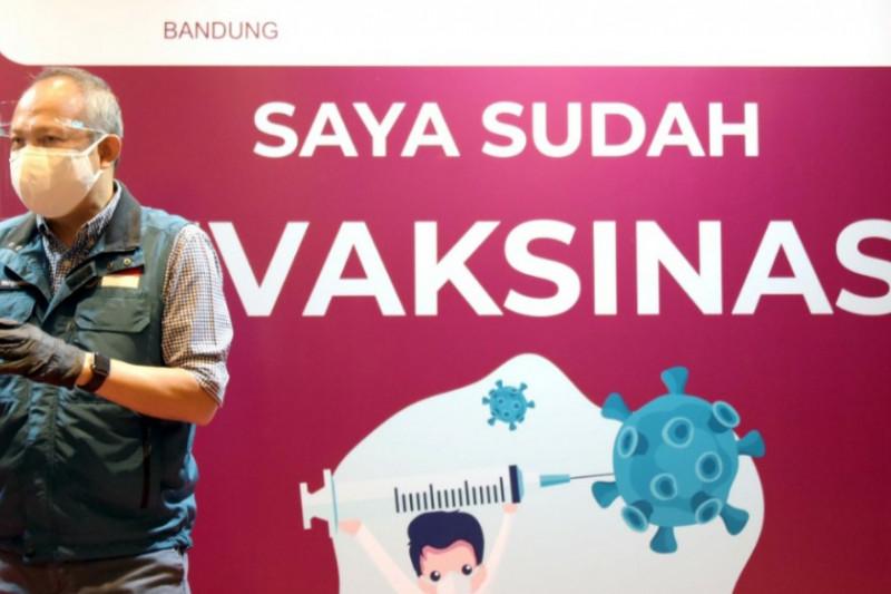 Tingkat pemakaian vaksin di Jawa Barat capai 80 persen dari vaksin yang dikirim Pusat
