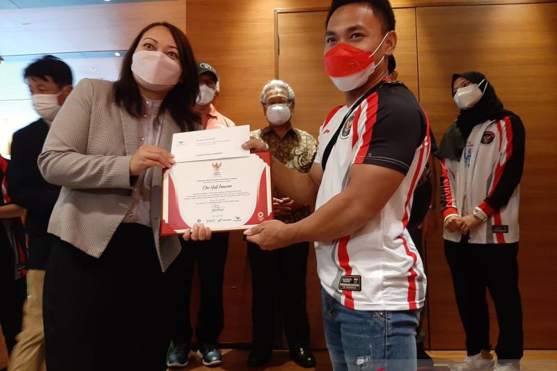 Eko Yuli Irawan dan Windy Cantika tinggalkan Tokyo kembali ke Tanah Air