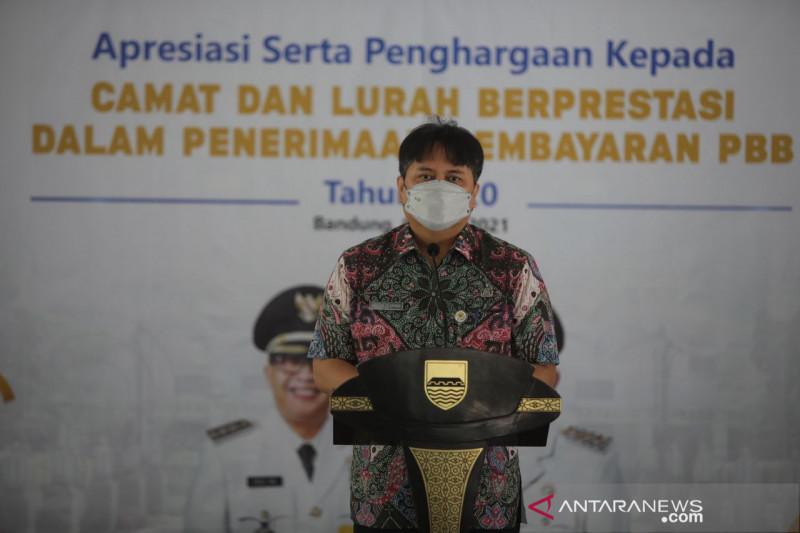 Pendapatan pajak semester satu 2021 Kota Bandung lebih besar dari 2020