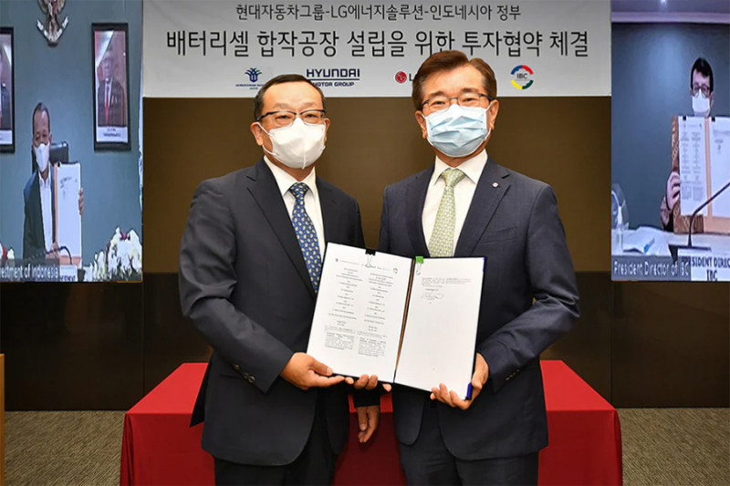 Hyundai dan LG bakal bangun pabrik baterai mobil di Karawang