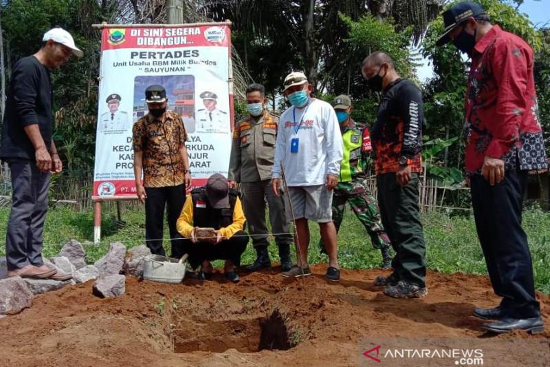 Bumdes Padamulya di Cianjur yang pertama miliki SPBU Pertades