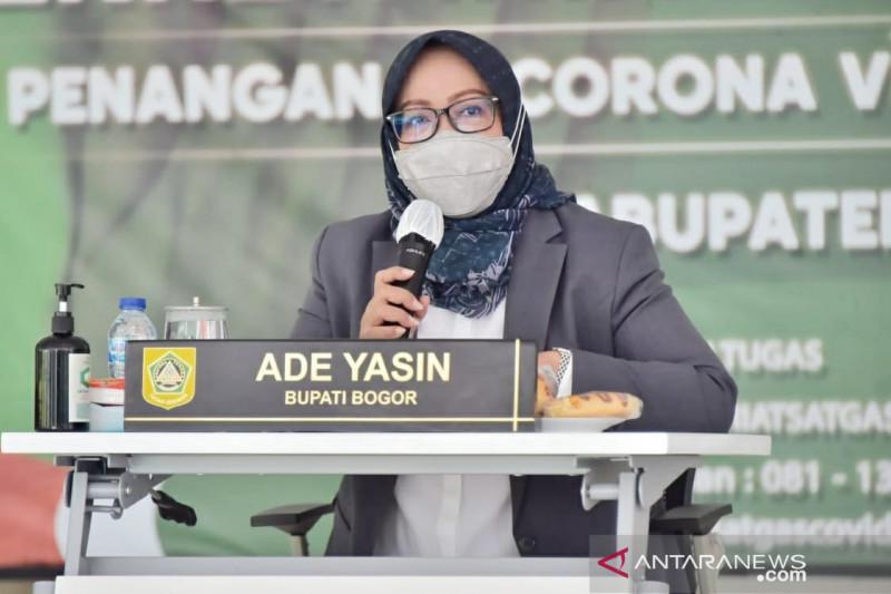 8.575 warga Bogor ditarget tervaksinasi setiap kecamatan per pekan