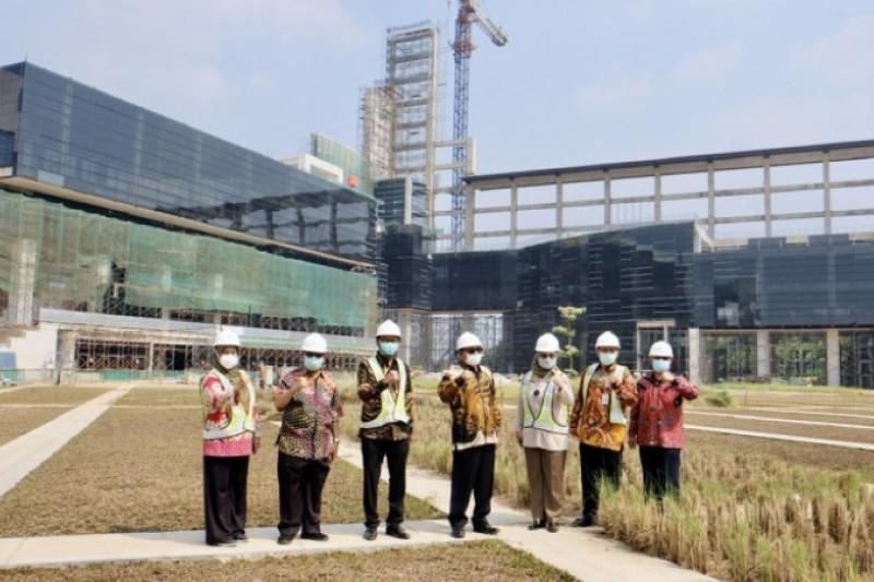 Wakil Wali Kota Depok tinjau proses pembangunan UIII