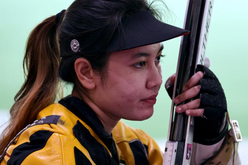 Vidya Rafika tak lolos kualifikasi menembak 50m putri