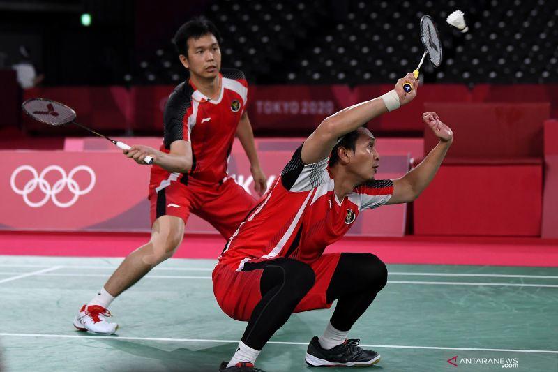 Rombongan kedua tim Olimpiade Indonesia sudah tiba di Tanah Air