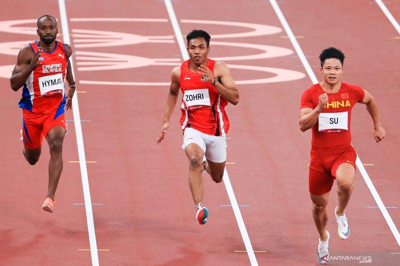 Ketum PB PASI apresiasi pencapaian Zohri dan Alvin pada Olimpiade Tokyo