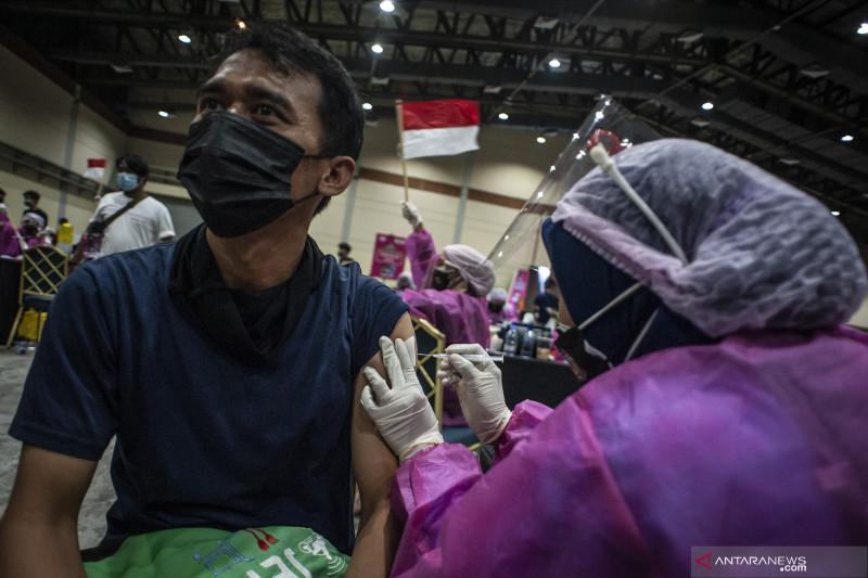 Penduduk Indonesia telah divaksinasi lengkap bertambah 388.402 orang