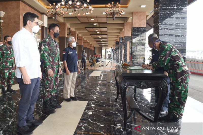 TNI AD apresiasi bantuan 380 tabung oksigen dari SKK Migas dan Kadin