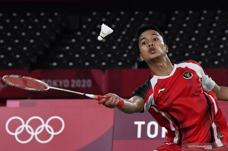 Jadwal atlet Indonesia hari ini: Anthony Ginting berjuang di semifinal