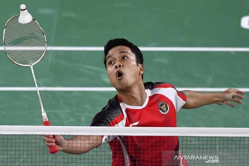 Anthony Ginting dipatahkan Chen Long di semifinal Olimpiade