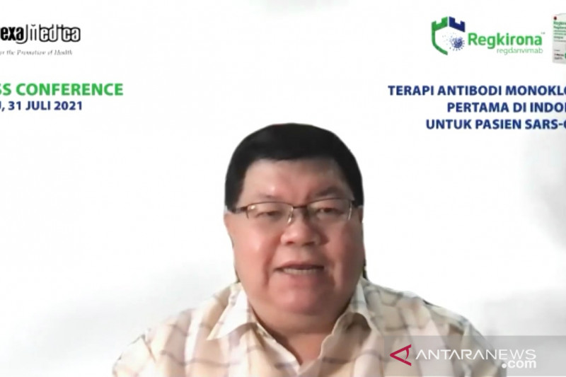 Regdanvimab jadi terapi antibodi monoklonal pertama di Indonesia