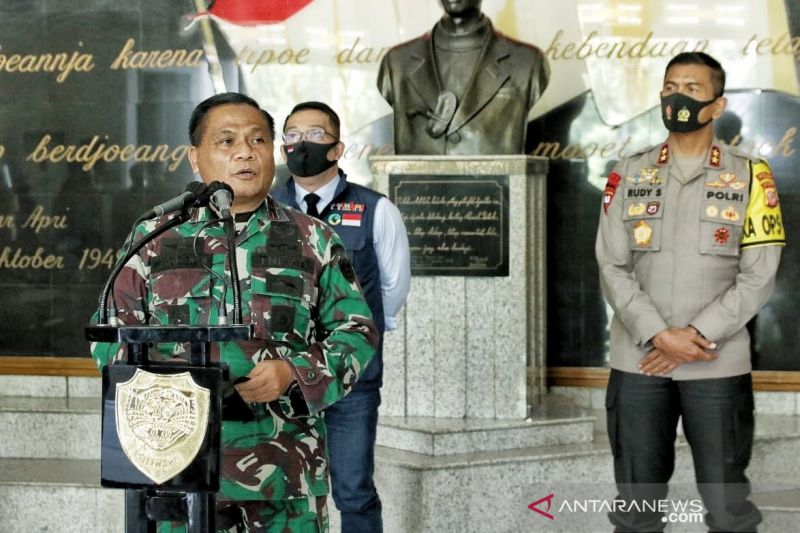 Mayjen TNI Nugroho masih tangani tugas COVID-19 sebelum sertijab Pangdam
