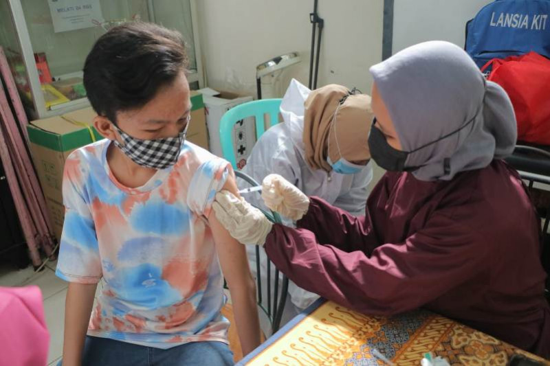 Sinergi Pertamina dan Pemkot Jakarta Utara gelar vaksinasi massal