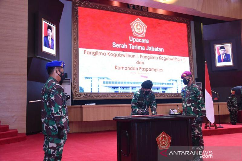 Panglima TNI mutasi 21 perwira tinggi