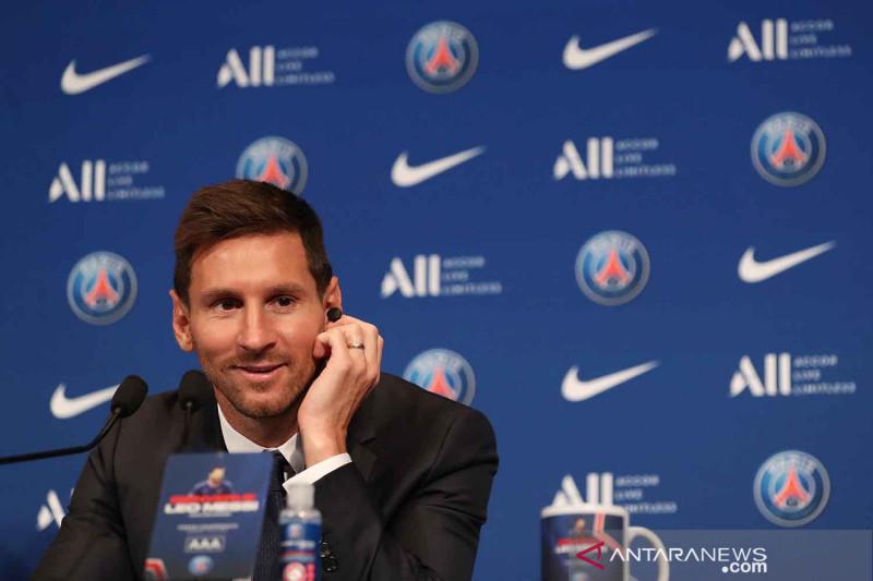Pochettino: Lionel Messi lakoni debutnya bersama PSG pekan depan