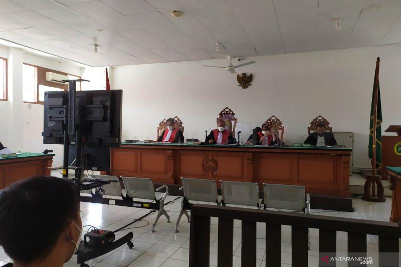 Sidang dakwaan korupsi bansos Bupati Bandung Barat Aa Umbara digelar daring