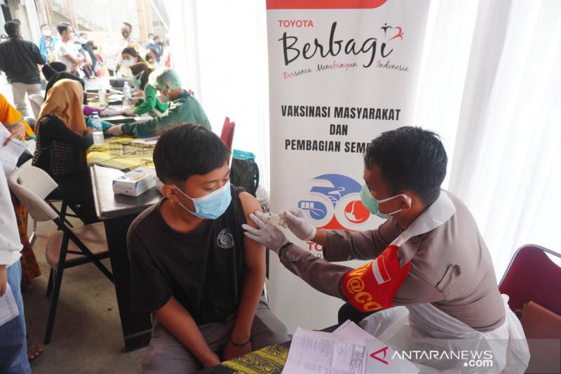 Toyota lanjutkan vaksinasi COVID-19 di Karawang
