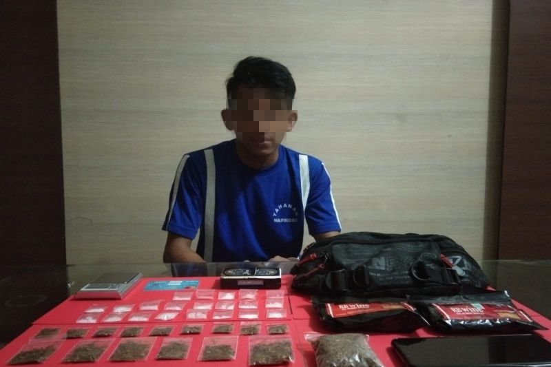 Polres Sukabumi Kota tangkap penjual narkoba