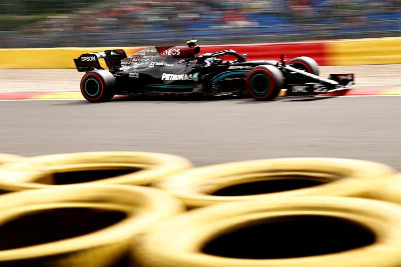 Valtteri Bottas tercepat di FP1 GP Belgia, Hamilton P18