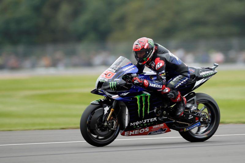Fabio Quartararo juarai motoGP Inggris