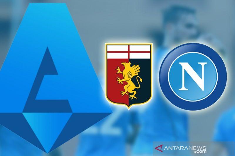 Napoli bawa tiga poin dari Genoa, Sassuolo kontra Sampdoria nirgol