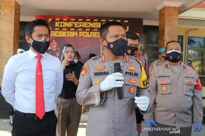 Tiga perampok toko dibekuk Polresta Bandung