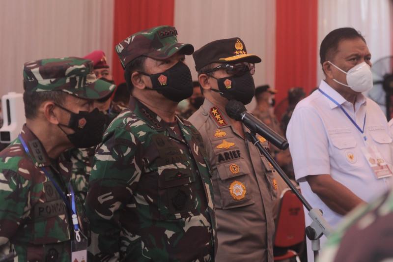 Kunjungan Panglima TNI di Manado, Sulut