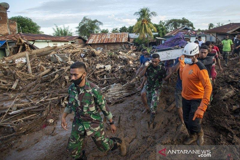 1.805 bencana alam melanda Indonesia pada Januari hingga Agustus 2021