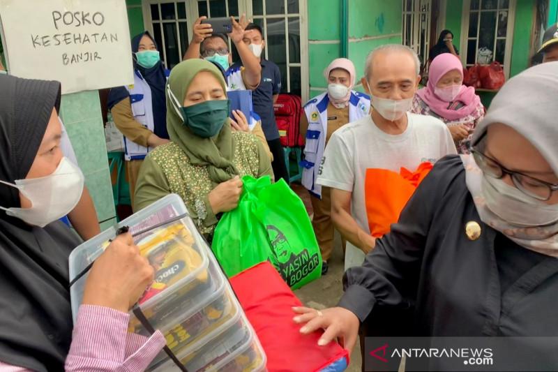 Bupati Bogor minta BPBD dan BIG investigasi meluapnya Sungai Cidurian