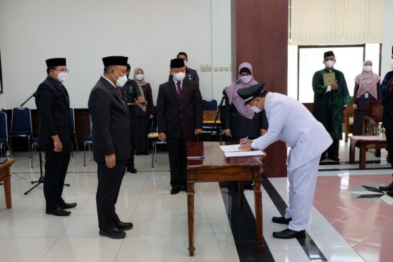 Wali Kota Depok Mohammad Idris mutasi 359 ASN