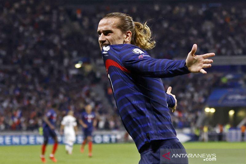 Antoine Griezmann bimbing Prancis kembali ke jalur kemenangan